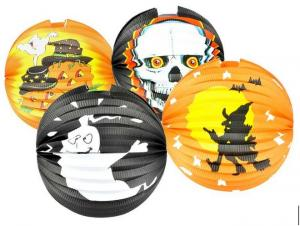 lampion 25cm HALLOWEEN